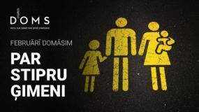 Februārī Ogres DOMĀ tiks runāts par ģimenes nozīmi