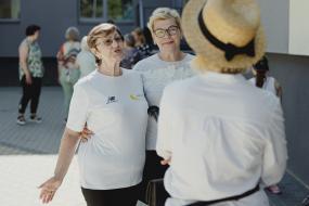 Deju treniņš senioriem sagādā prieku