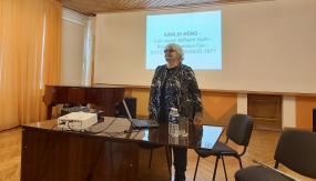 Kārlim Hūnam veltīta nodarbības un lekcija Valmieras novadā