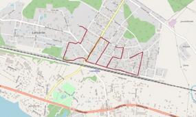 """Iepazīsti www.konturumekletajs.lv Lielvārdes kartē iezīmēto maršrutu """"2021"""" 4.2 kilometru garumā"""