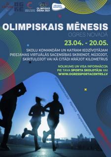 """""""Olimpiskais mēnesis 2021"""""""