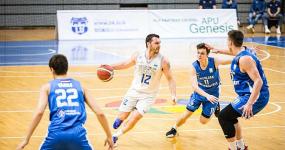 """""""Latvijas Universitātes"""" basketbolisti izlīdzina rezultātu LBL ceturtdaļfināla sērijā pret """"Ogri"""""""