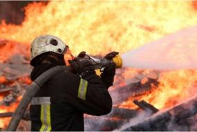 Vakar Ogres novadā dzēsts paaugstinātas bīstamības ugunsgrēks