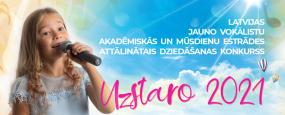 """Vokālās studijas """"Mikauši"""" un LNMMS dziedātāji piedalījušies jauno vokālistu konkursā """"UZSTARO 2021""""!"""