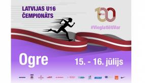 15. un 16. jūlijā Ogrē notiks Latvijas U16 čempionāts
