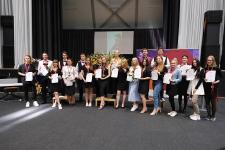 Ogrē godalgo nacionālā konkursa SkillsLatvia 2021 laureātus